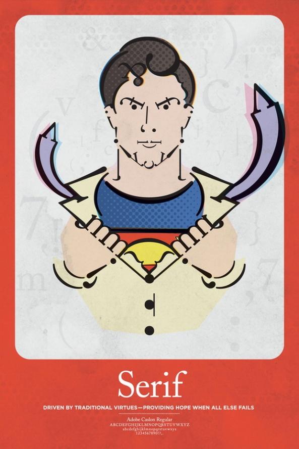 superman serif